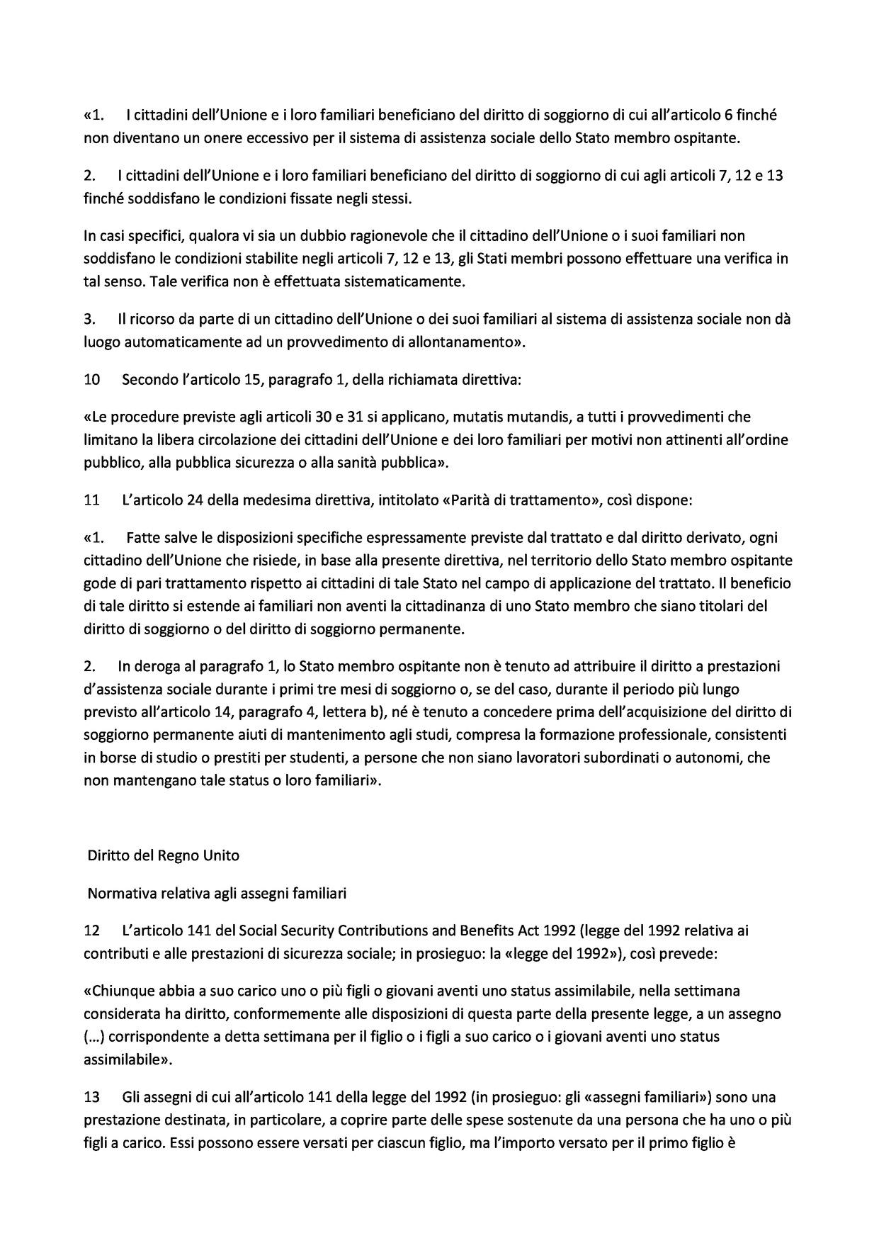 Sentenza CGUE 14 giugno 2016 – causa C-308/14 Commissione/Regno ...